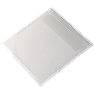 Pochettes CD-ROM , 127 x 127 mm, 10 pièces