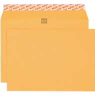 Pochettes jaunes de banque, B5, 120g, 500 pièces