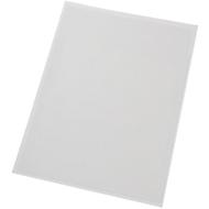 Pochettes transparentes autocollantes, format A4, paquet de 10 pochettes