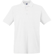 Polo-Shirt Premium, weiß, XL