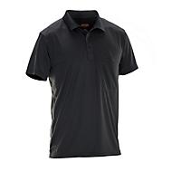 Polo Spun Dye schwarz 3XL