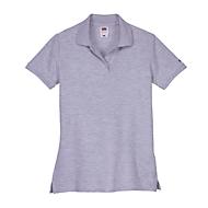 Poloshirt, Grau meliert, M, Auswahl Werbeanbringung optional