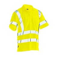 Poloshirt met hoge zichtbarheid Jobman 5583 PRACTICAL Spun Dye Hi-Vis,  EN ISO 20471 klasse 3, PPE 2, geel, maat M