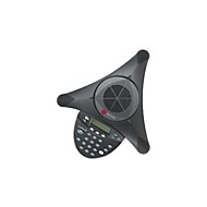 Polycom SoundStation2 - Konferenztelefon mit Rufnummernanzeige