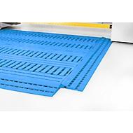 Polyethylen-Fußbodenrost 60x120, blau