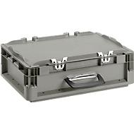 Polypropeen koffer ELB 4120 grijs