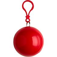 Poncho, Rot, Standard, Auswahl Werbeanbringung erforderlich