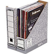 Porte revue Fellowes Bankers Box®, largeur 78 mm, DIN A4, 10 pcs.