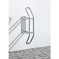 Porte-vélo mural 90° accès frontal, galvanisé