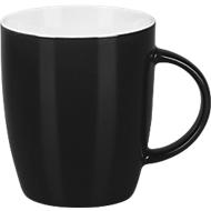 Porzellantasse Specta, schwarz