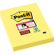 POST-IT Haftnotizen Super sticky, , 48 mm x 73 mm, 90 Blatt, 1 Block, kanariengelb