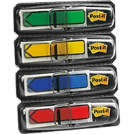 Post-it®  Index-flèche 684 ARR3, (4 x 24 flèches : vert, jaune, bleu, rouge)