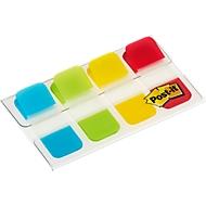 Post-it® Index Strong Mini, 4 x 10 Haftstreifen, farblich sortiert, extra stark