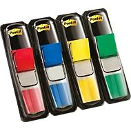 Post-it indexstroken Mini 683-4, rood, geel, blauw, groen