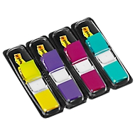 Post-it indexstroken Mini 683-4AB, citroengeel, lila, roze, turquoise