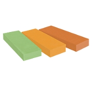 Post-it® marques pages recyclés 671-3R, 25 x 76 mm, 3 x 100 feuillets