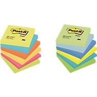 Post-it® Notes - en couleur, Offre complète: 6 blocs Energies (654 TFEN) + 6  blocs Dream (654 MTDR)