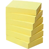 Post-it, Recycling Notes, 51 mm x 38 mm, 6 x 100 feuillets, jaune
