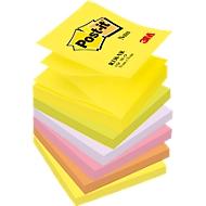 Post it  Z notes - Couleurs assorties Néon - 6 blocs de 100 feuilles