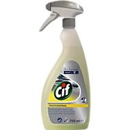 Power Fat Dissolver Cif Professional, parfumvrij, veilig voor aluminium, 750 ml