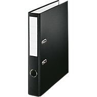 PP-Ordner Economy, Rückenbreite 50 mm, schwarz