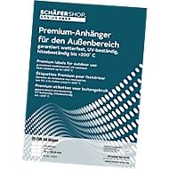 Premium etiketten, 148 x 209,55 mm, 25 stuks
