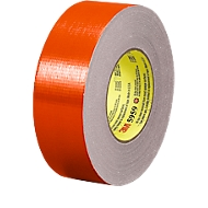 Premium geweven tape, UV-bestendig, 48 mm x 41,1 m, rood