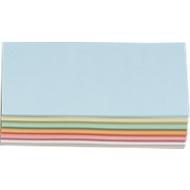 Presentatiekaartjes, rechthoekig, 95 x 205 mm, 250 st., diverse kleuren