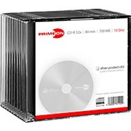 PRIMEON CD-R, 10 per Slimcase