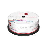PRIMEON DVD+R, bedrukbaar, max. 16x, 4,7 GB/120 min, spindel met 25 stuks