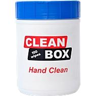 Printplaatreiniger CLEAN BOX Adhesive Remover, 100 doekjes in dispenserdoos