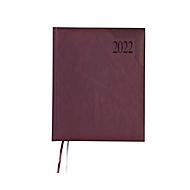 Profi-Timer Sidney, 160 Seiten, B 215 x H 265 mm, Werbedruck 100 x 80 mm, dunkelrot, Auswahl Werbeanbringung erforderlich