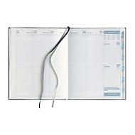 Profi-Timer Tucson, 176 Seiten, B 215 x T 20 x H 260 mm, Werbedruck 100 x 80 mm, rotbraun
