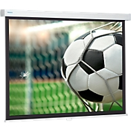Projecta Rollo-schermwand Pro Screen, 1290 x 2000 mm, met klemmechanisme met vering, mat wit