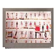 Projectiebord voor modulair whiteboardsysteem Skin, 750 x 1150 mm