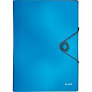 Projektmappe Leitz Solid, 5 Fächer, 1 Zusatzfach, Format DIN A4, hellblau