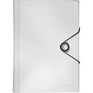 Projektmappe Leitz Solid, 5 Fächer, 1 Zusatzfach, Format DIN A4, weiß