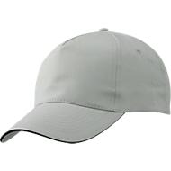 Promo Cap, hellgrau/schwarz