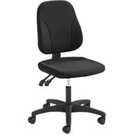 Prosedia Bürostuhl YOUNICO PLUS 3, Permanentkontakt, ohne Armlehnen, niedrige 3D-Rückenlehne, schwarz