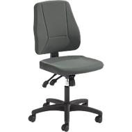 Prosedia Bürostuhl YOUNICO PLUS 8, Synchronmechanik, ohne Armlehnen, halbhohe Rückenlehne, anthrazit
