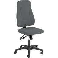 Prosedia Bürostuhl YOUNICO PLUS 8, Synchronmechanik, ohne Armlehnen, hohe 3D-Rückenlehne, anthrazit