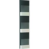 Prospekt-Wandhalter S1, 3 x DIN A4