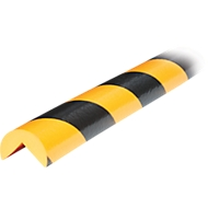 Protection d'angle type A, rouleau de 5 mètres, jaune/noir