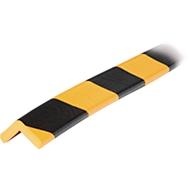 Protection d'angle Type E - jaune/noir - 1 pièce de 1 mètre