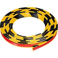 Protection d'angle Type E - jaune/noir - 1 pièce de 5 mètres