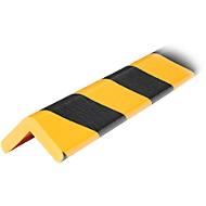 Protection d'angle Type H - jaune/noir - 1 pièce de 1 mètre