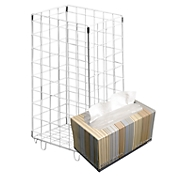 Prullenmand groot + KLEENEX® Ultra Soft handdoeken-box GRATIS