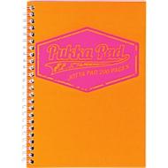 Pukka Pad Collegeblock Jotta Neon, Format DIN A5, kariert, 250 Blatt, orange