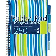 Pukka Pad Collegeblock Project Streifen, DIN A4, kariert, Spiralbindung
