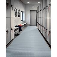 PVC-Badematte, 600 mm breit, grau